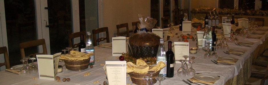 Agriturismo La Valletta — Pranzi di Natale, cenoni di Capodanno