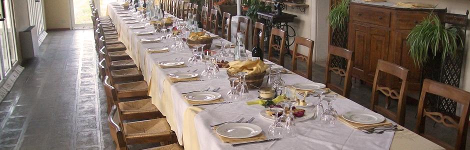 Agriturismo La Valletta — Riunioni di famiglia e con gli amici